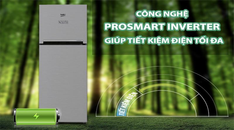 Tiết kiệm điện, vận hành êm ái hơn với công nghệ Prosmart Inverter