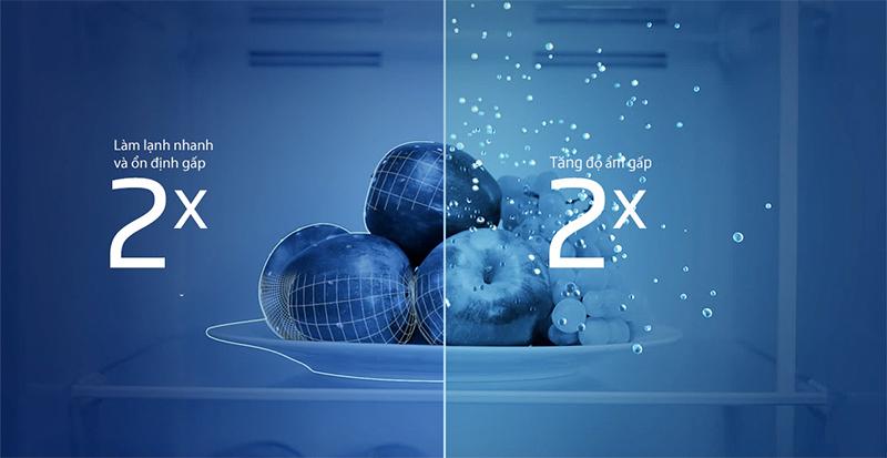 Công nghệ làm lạnh NeoFrost - 2 dàn lạnh độc lập