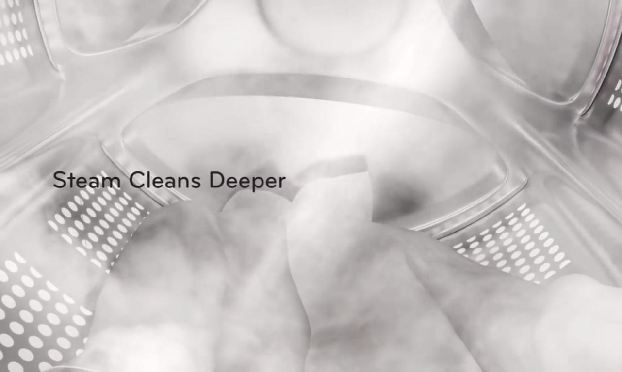 Diệt khuẩn, chống nhăn quần áo với công nghệ giặt hơi nước