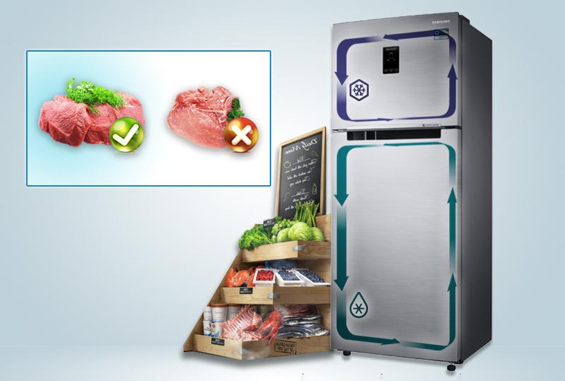 Công nghệ 2 dàn lạnh độc lập tăng khả năng lưu giữ độ ẩm cao