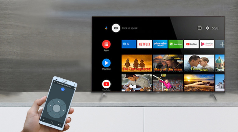Android TV - Android Tivi Sony 4K 85 inch KD-85X9000H