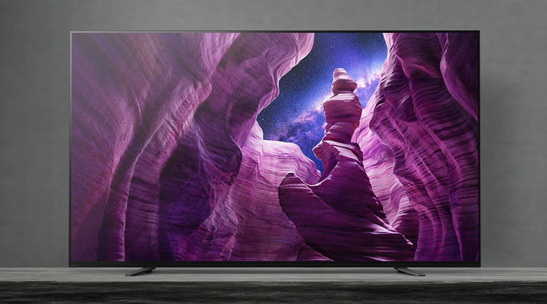 Android Tivi OLED Sony 4K 55 inch KD-55A8H - Thiết kế tối giản