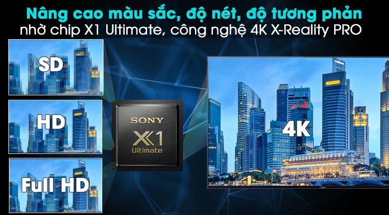 Android Tivi Sony 4K 49 inch KD-49X9500H - 4K X-Reality PRO