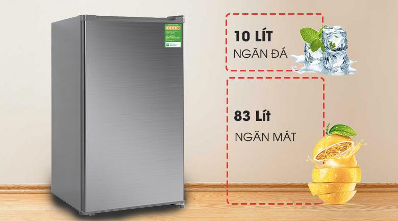 Dung tích 93 lít - Tủ lạnh Beko 93 lít RS9051P