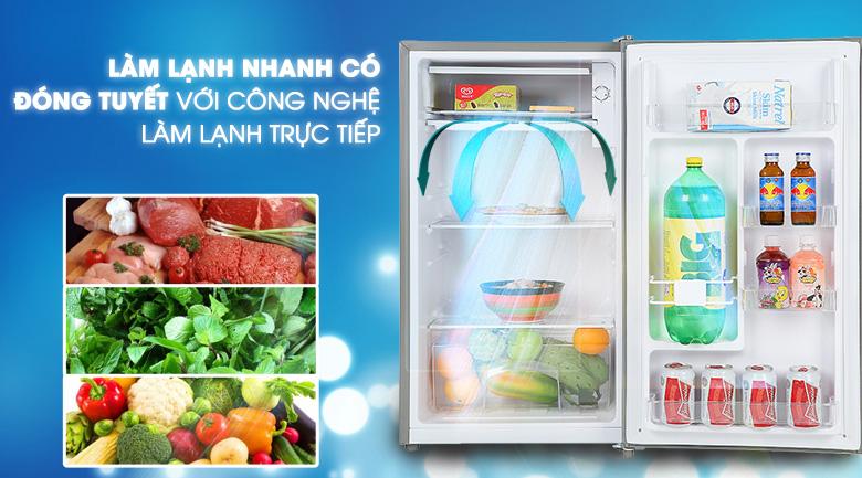 Hệ thống làm lạnh trực tiếp - Tủ lạnh Beko 93 lít RS9051P