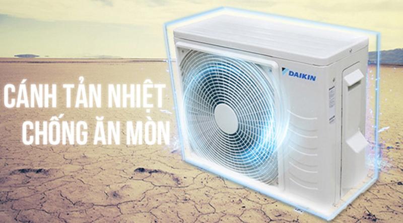 Điều hòa Daikin 11100 BTU FTF35UV1V - Tản nhiệt chống ăn mòn