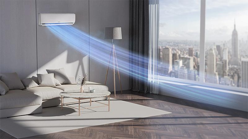Điều hòa Samsung Inverter AR5000H 9000 BTU AR09TYHQASINSV - Chế độ làm lạnh nhanh