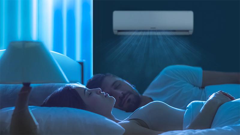 Điều hòa Samsung Inverter AR5000H 9000 BTU AR09TYHQASINSV - Chế độ ngủ ngon