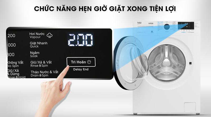 Máy giặt Beko Inverter 8 kg WCV8612XB0ST-Tiện lợi cùng tính năng hẹn giờ giặt xong
