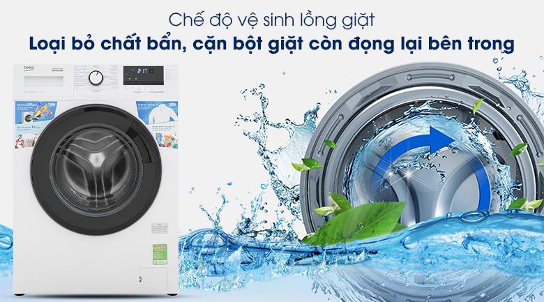 Máy giặt Beko WCV10612XB0ST - Chế độ vệ sinh lồng giặt