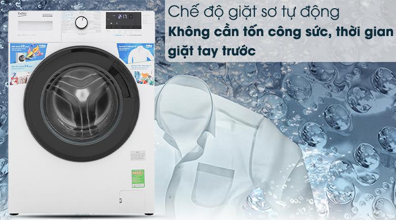 Máy giặt Beko WCV10612XB0ST -Chế độ sợ tự động