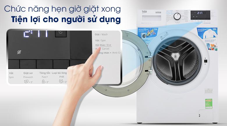 Máy giặt Beko WCV10612XB0ST - Chức năng hẹn giờ