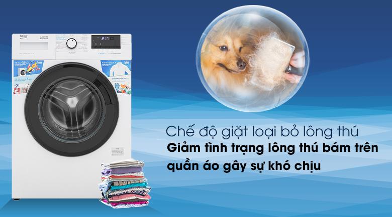 Máy giặt Beko WCV10612XB0ST- Chế độ giặt loại bỏ lông thú