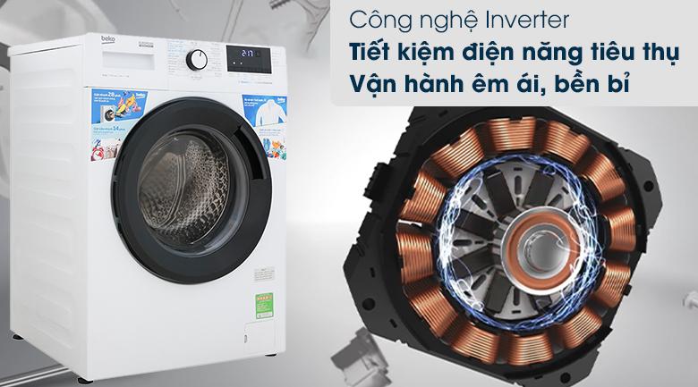 Máy giặt Beko WCV10612XB0ST - Công nghệ Inverter
