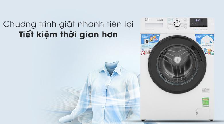 Máy giặt Beko WCV10612XB0ST - Chương trình giặc nhanh tiện lợi