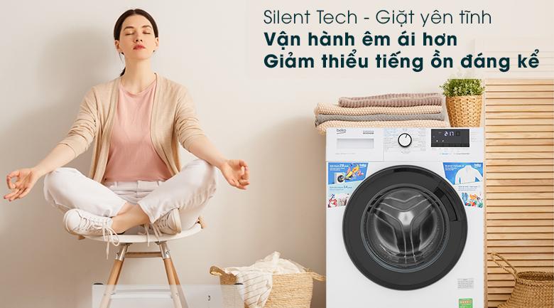 Máy giặt Beko WCV10612XB0ST - Công nghệ Silent Tech