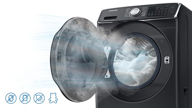 Máy giặt Samsung Addwash Inverter 19 Kg WD19N8750KV/SV