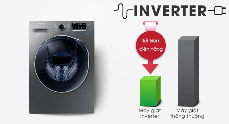 Máy giặt Samsung Addwash Inverter 9 Kg WD95K5410OX/SV