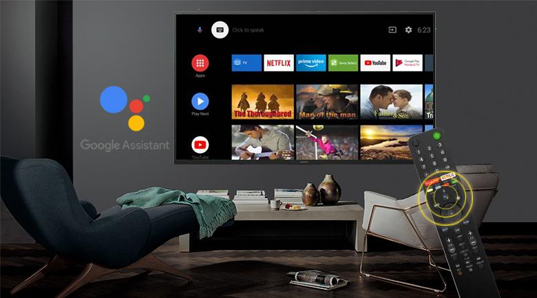 Remote-Android Tivi Sony 4K 65 inch KD-65X7500H