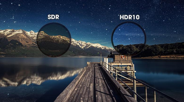 HDR 10-Android Tivi Sony 4K 65 inch KD-65X7500H