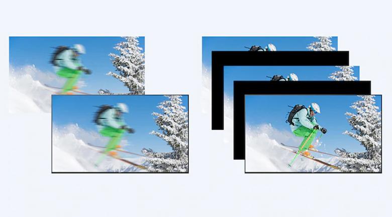 Công nghệ quét hình:Motionflow™ XR 200 Hz