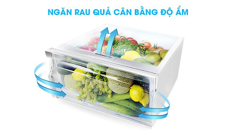 Ngăn rau quả cân bằng độ ẩm - Tủ lạnh Samsung Inverter 208 lít RT20HAR8DBU/SV