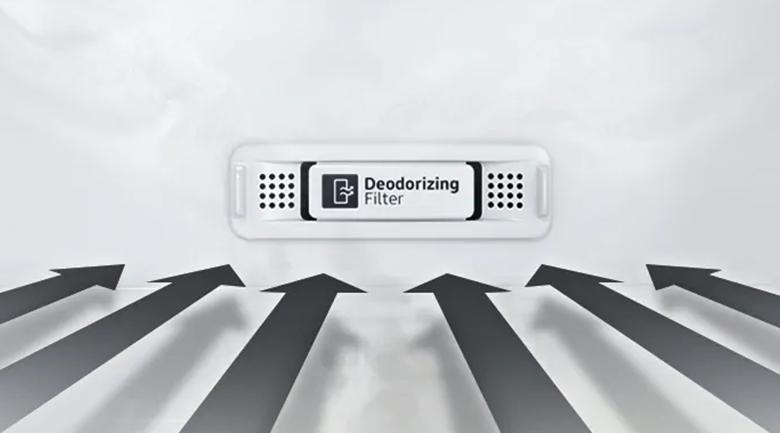 Bộ lọc than hoạt tính Deodorizer - Tủ lạnh Samsung Inverter 300 lít RT32K5932BU/SV